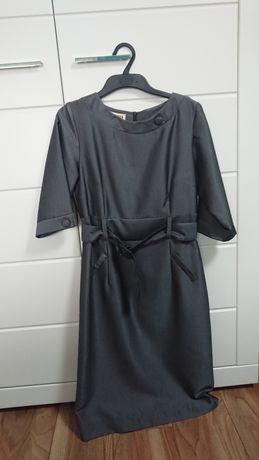 Sukienka popielata