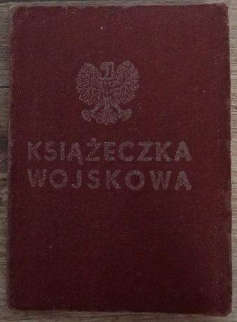 Książeczka Wojskowa PRL Ludowe Wojsko Polskie