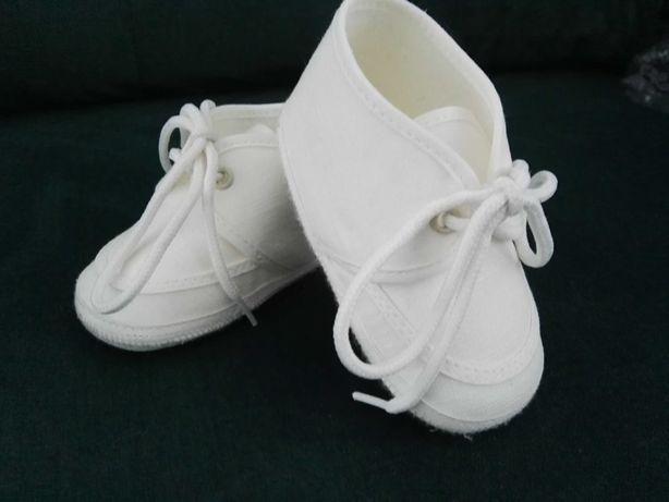 Buciki niemowlęce - chrzest