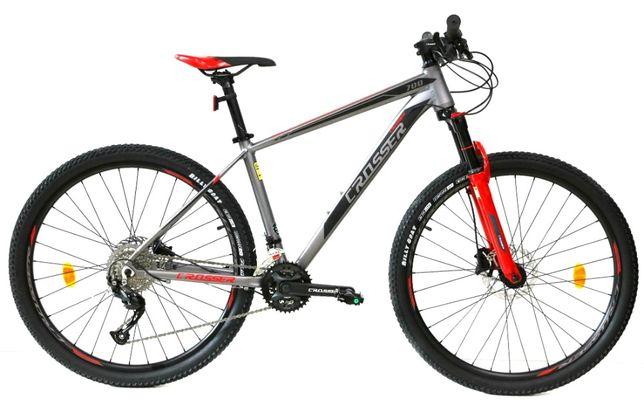 Велосипед гидравлика алюминий горный колесо 27,5 и 29 Crosser МТ-042