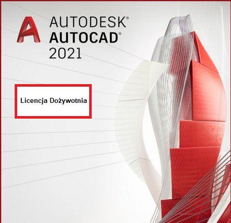 AutoCAD 2021 - Licencja Dożywotnia (Klucz)