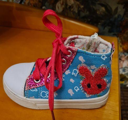 Trampki, buciki dla dziewczynki. Rozm.25