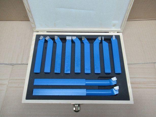 Komplet Noży Tokarskich NOWY 16x16 Zestaw 11el Nóż Tokarski Prawy Lewy