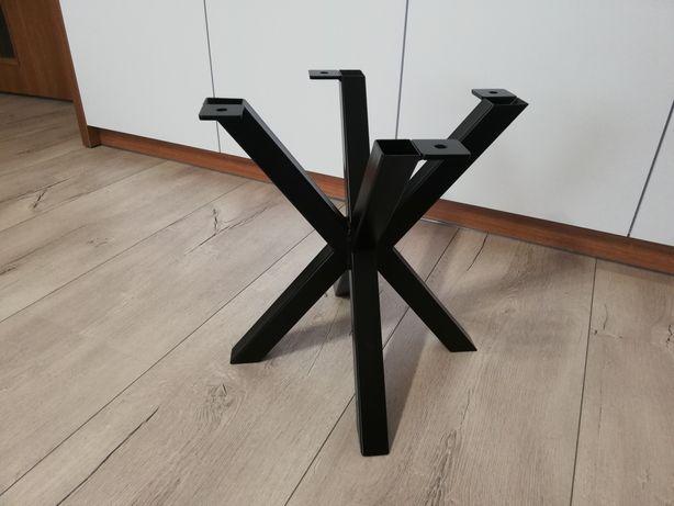 Noga do stolika kawowego idealna do plastra drewna