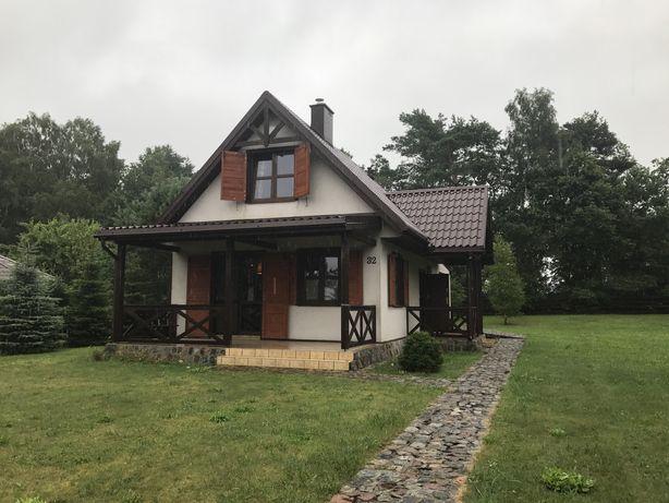 Domek nad jeziorem Sarbsk koło Łeby