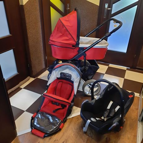 Wózek 3 w 1 Baby Dising Rodeo gondola spacerówka fotelik