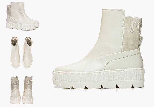 Ботинки Puma Chelsea Rihanna Fenty Vanilla Ice Beige 366266-02