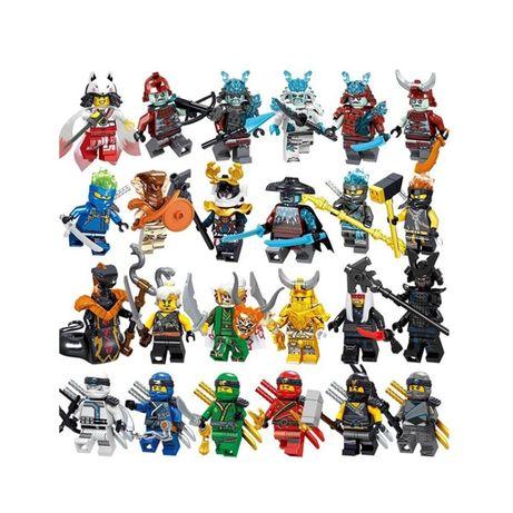 NINJAGO - 24 figurki - SUPER JAKOŚĆ- kompatybilne z lego