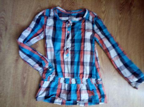 сорочка рубашка плаття в школу на ріст 128-134см