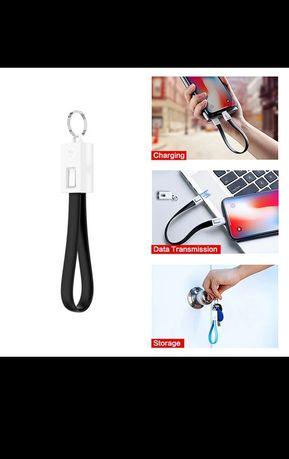 Carregador USB-C Porta chaves