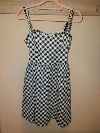 Sukienka w kratę Fishbone r. XS