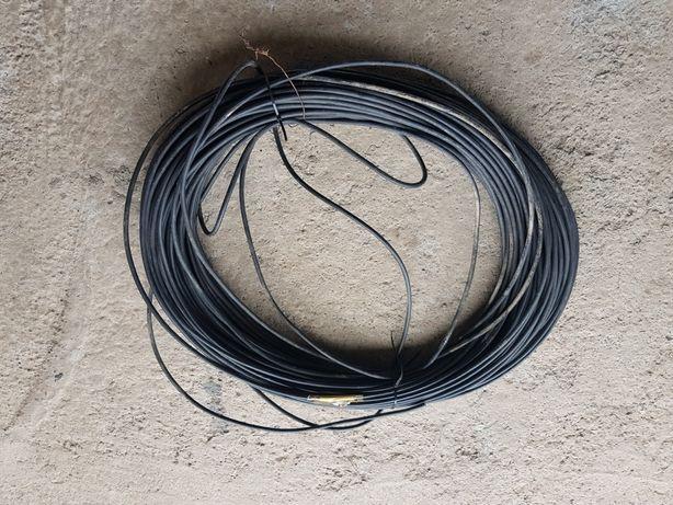 Kabel 4x15 okragly czarny