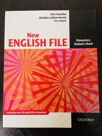 Книга New English File, Elementary Student's book