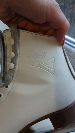 коньки фигурные botas peggy 38