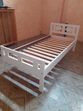 Łóżko Ikea Kritter białe z dnem, barierka gratis