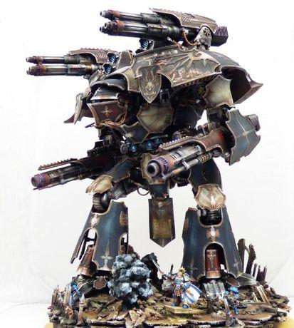 Миньки Warhammer, настолки