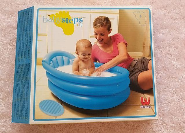 Banheira insuflavel para bebé
