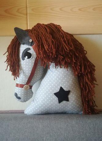 Koń konik przytulanka poduszka dekoracja