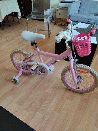 """Bicicleta Infantil - 5 a 7 anos (roda 16"""")"""