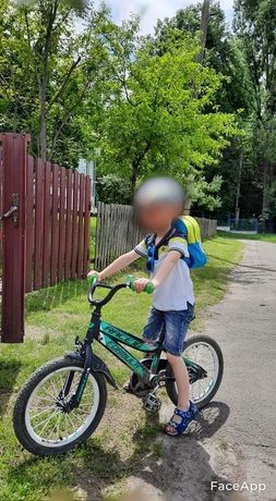 Велосипед дитячий 4-6р