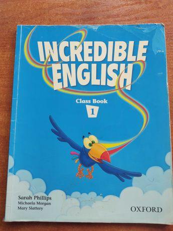 Podręcznik do j.angielskiego INCREDIBLE ENGLISH 1