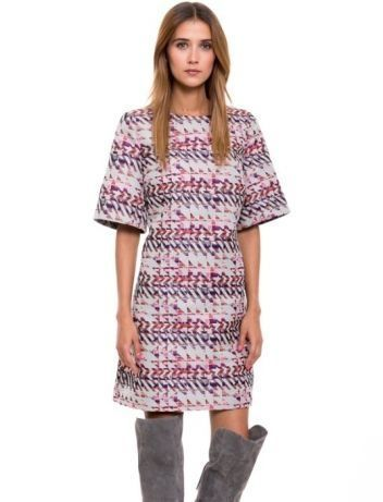 Simple sukienka SUKNIA różowa beżowa 34 xs 36 S