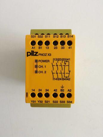 Relé de segurança Pilz Pnoz X3 24VAC/24 VDC novo
