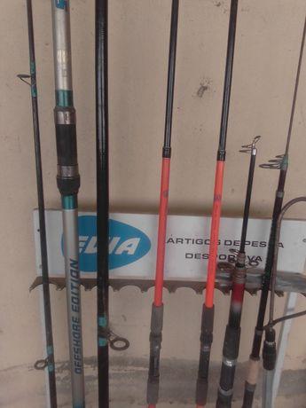 Canas de pesca lote