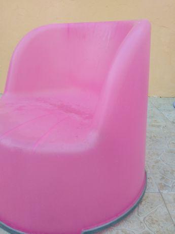 Sofá ikea cor - de - rosa
