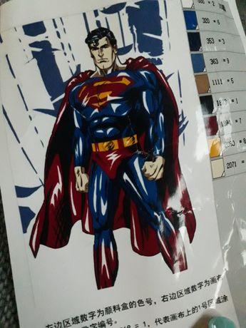 Malowanie po numerach, obraz dla chłopca