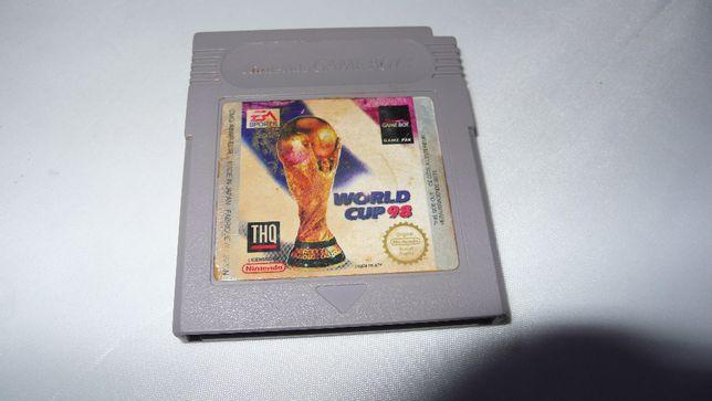Gra do Nintendo Gameboy World Cup 98