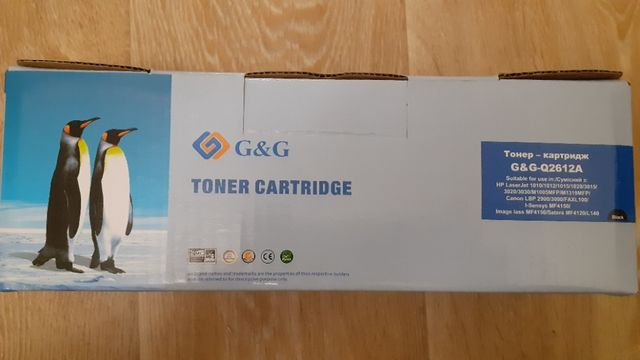Картридж G&G для HP LJ 1010/1012/1020/1022, Black (G&G-Q2612A)G