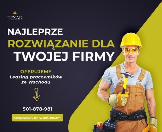 • Agencja Pracy • Leasing Pracowników • Pracownicy z Ukrainy •