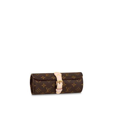 Louis Vuitton watch 3 case etui torebka torba zegarek Rolex omega pate