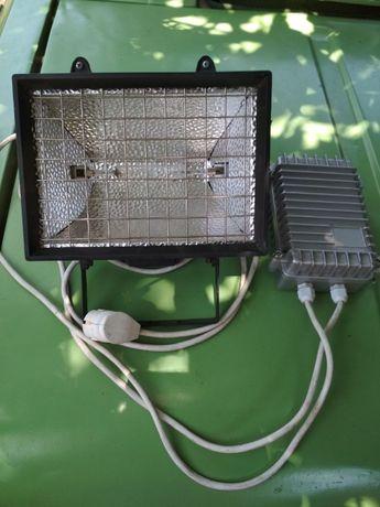 Бактерицидно кварцевая лампа с дросселем 1000вт.