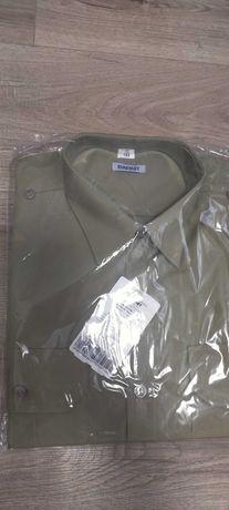 koszulobluza z długimi rękawami koloru khaki wzór 310/mon