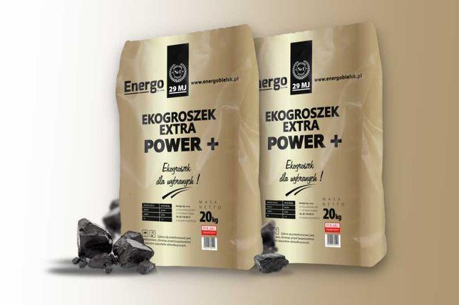Ekogroszek Extra Power + worek NAJLEPSZY w polsce wegiel