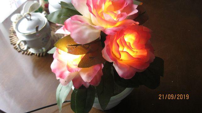 Букет цветов механический с подсветкой