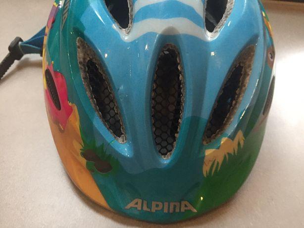 Kask rowerowy dziecięcy Alpina 51-56 cm
