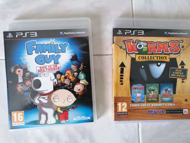 Worms collection Family guy Sonic e ducktales ps3