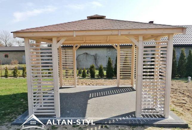 Altany, altanki, wiaty, altana ogrodowa ZUZIA 3x3m PRODUCENT