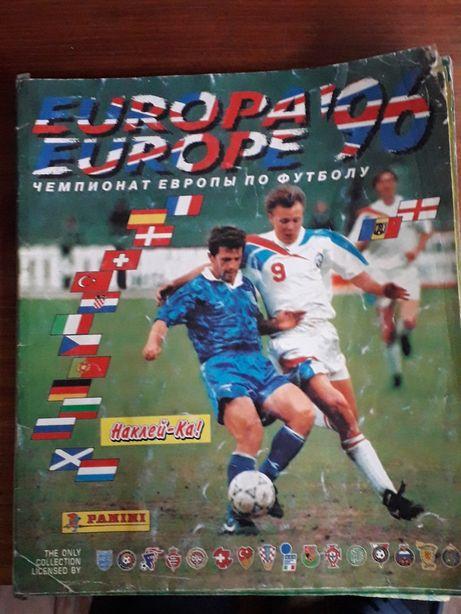 Журнал Чемпионата Европы 96
