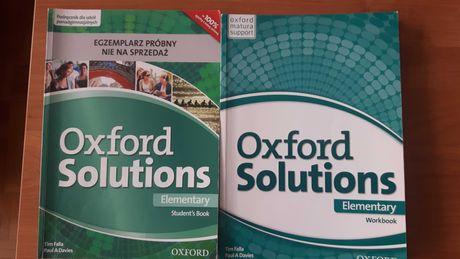 Oxford Solutions elementary SB, WB