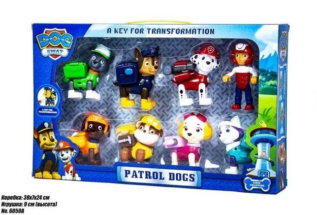 Детский игровой набор DOG SWAT Щенячий Патруль Герои-спасатели