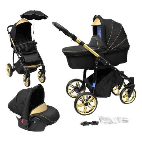 Carrinhos de bebé Trio + Acessórios NOVOS tons dourados e outros