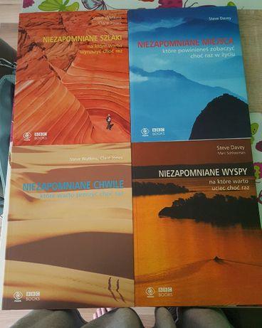 4 ksiażki z serii Niezapomniane BBC BOOKS