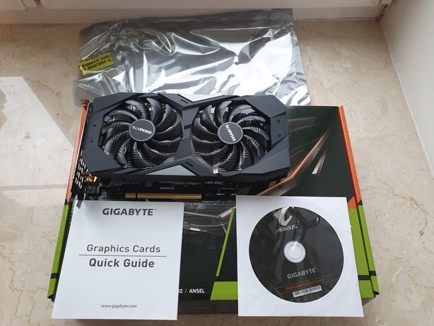 Nvidia GTX 1660S 6 gb gigabyte в отличном состоянии!