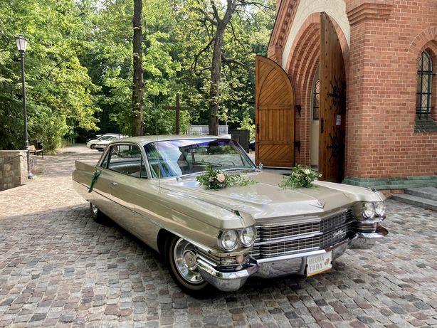 Cadillaciem do ślubu/ Auto do ślubu