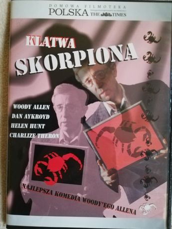 """Klątwa Skorpiona DVD seria """"Domowa Filmoteka Polska"""" (z dostawą)"""
