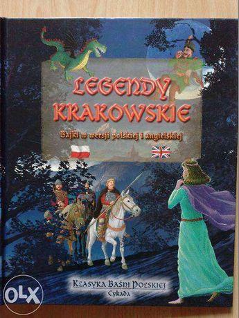 Legendy krakowskie. Bajki w wersji polskiej i angielskiej
